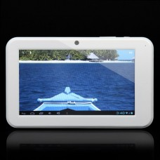 "C0709W 7.0"" Android 4.0 5-Point Capacitive Touch Screen Tablet PC - White"
