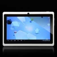 "C0708 7.0"" Android 4.0 5-Point Capacitive Screen Ultra-thin Tablet PC (4GB) - White"