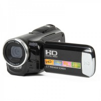 "HD-C6 2.7"" TFT Screen Max Interpolation 14MP Digital Camcorder W/ 8X Digital Zoom - Black"