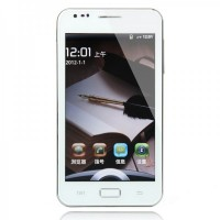"i9220W 5.0"" Capacitive Touch MTK6573 + Android 4.0 Smartphone w/Dual-SIM + Bluetooth + Dual Camera"
