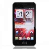 "i9220B 5.0"" Capacitive Touch MTK6573 + Android 4.0 Smartphone w/Dual-SIM + Bluetooth + Dual Camera + GPS"