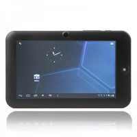 "C0706 7""Android 4.0 5-Point Capacitive Screen Ultra-thin Tablet PC - Black (4GB)"