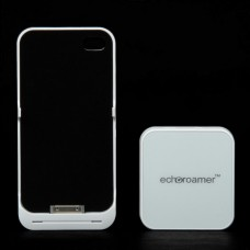 Wireless Video Transmitter & 1800mAh Battery case For iPhone 4 / 4S