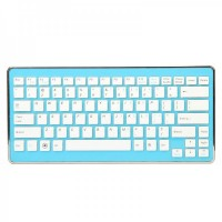 6110  2.4GHz Mini Wireless Keyboard - Blue