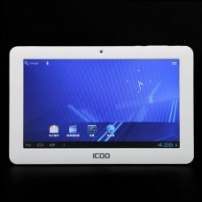 "ICOO D50 7.0"" Android 4.0 5-Point Capacitive Touch Screen Tablet PC - White"