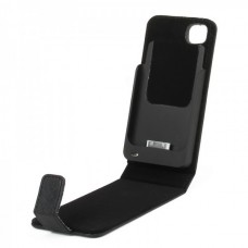 2200mAh Rechargeable External Battery Case For iPhone 4/4S - Black