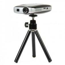KN725B Portable Multimedia Player Mini Projector (4GB) - Black