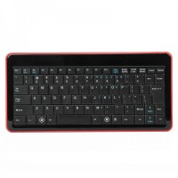 6410  2.4GHz Mini Wireless Keyboard - Black + Red
