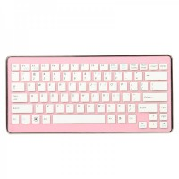 6110  2.4GHz Mini Wireless Keyboard - Pink