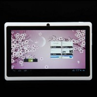 "C0705W 7.0"" Android 4.0 5-Point Capacitive Touch Screen Tablet PC - White"