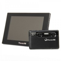 "Genuine Phenix Set PH-C1 3D Stereoscopic Digital Camera + PH-M1 8"" LED Glasses-Free 3D Digital Multimedia Player"