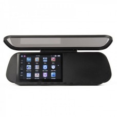 "GHB5102 5.0"" WinCE6.0 Touch Rear View Mirror GPS Navigator Bluetooth/AV IN + 4GB TF Brazil Maps Card"
