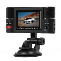 "Dual 3MP Lens Wide Angle Car DVR Camcorder (2.7"" TFT LCD)"