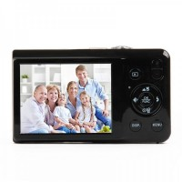"SDI500 2.7"" TFT LCD CMOS 15MP Digital Video Camera w/ SD/USB2.0 - Black"