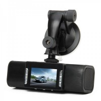 "2.0"" LTPS LCD 5MP Car DVR Camcorder w/ 9-LED Night Vision TX130"