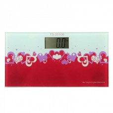 Ultra-portable Personal Scale (heart-shaped pattern) TS-2010B