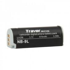 Genuine Travor NB-9L 3.7V/870mAh Battery Pack for Digital Camera