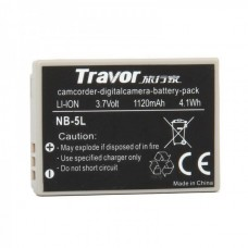 Genuine Travor NB-5L 3.7V/1120mAh Battery Pack for Digital Camera