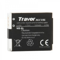 Genuine Travor NB-6L 3.7V/1000mAh Battery Pack for Digital Camera