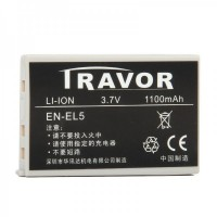 Genuine Travor EN-EL5  3.7V/1100mAh Battery Pack for Digital Camera