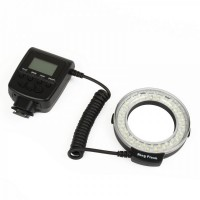RF550D Travor LED Macro Ring Flash for DSLR Camera (4 x AA)