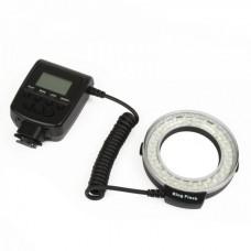RF550D Travor LED Macro Ring Flash for DSLR Camera (4 x AA)