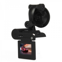 "H7600 5MP CMOS Wide Angle Car DVR Camcorder w/ 8-LED IR Night Vision / AV-Out / TF (2"" LCD)"