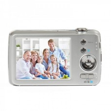 "DC-58E 14MP Digital Camera with 5X Digital Zoom / 5X Optical Zoom / SD Slot - Silver (2.7"" LCD)"