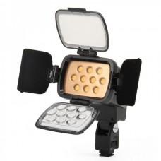 LED-VL001-B Video Light 10 LEDs Warm Yellow LED for Camera
