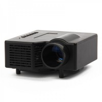 GP-1 18W LCD LED Multimedia Projector - Black