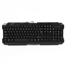 USB Wired 113-Key Keyboard - Black (120cm-Cable)