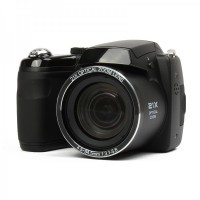 "S5000 1600MP Digital Camera 3"" LCD, 21X Optical Zoom,  - Black"