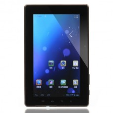 "C0710 7.0"" Android 4.0 5-Point Capacitive Screen Ultra-thin Tablet PC (8GB+Bulit-in GPS Module+ FM Transmitter) - Black"