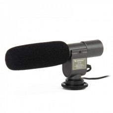 SG-108 Professional Stereo Microphone for DV Camcorder (Black)