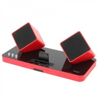 ipega PG-IH119 2.4G Wireless Remote Stereo Home Theater Audio (Red)