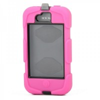 810F Waterproof Case For iPhone 4/4S - Deep Pink