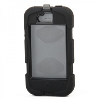 810F Waterproof Case For iPhone 4/4S - Black