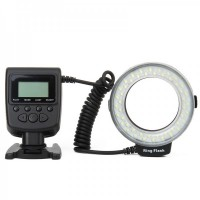 48-LED Macro LED Ring Flash HL-48 - Black