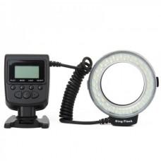 48-LED Macro LED Ring Flash HL-48 - Black