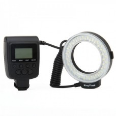 Travor RF-550E 48-LED Macro LED Ring Flash For DSLR - Black
