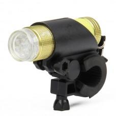 FZ-012 9-LED Bicycle Flashlight  (Yellow)