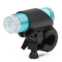 FZ-012 9-LED Bicycle Flashlight (Blue)