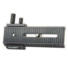 FOTOMATE LP-01 Aluminum Alloy Macro-Turning Long-Type TriPod Head DSLR - Black