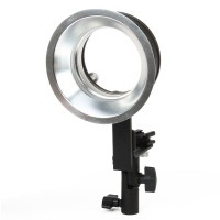 Aluminum Alloy Flash External bracket (Bowens bayonet Universal)