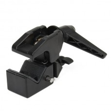 B-01 Aluminum Alloy Photography Clip (Black)