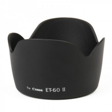 Camera Lens Hood For ET-60 Camera(Black)