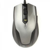 MC-099U MCSAITE USB Wired 1000 / 1600DPI Optical Mouse - Deep Gray (150cm-Cable)