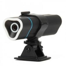 F1 2MP 720P HD Outdoor Sports Digital DV (MP3+Lighter) - Black