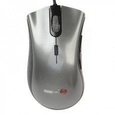 MC-076U MC Saite USB Wired 6-Button Optical Mouse - Grey + Black (1.5m-cable)