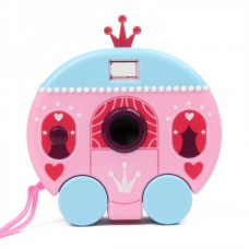 "Cartoon Pumpkin Type 300K Pixels USB Digital Camera - Pink (1.0"" LCD / 2 x AAA)"
